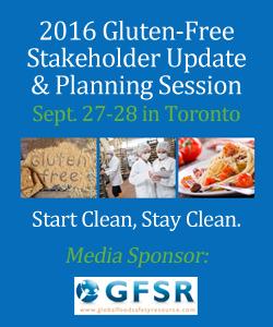 2016 Gluten-Free Stakeholder Update & Planning Session