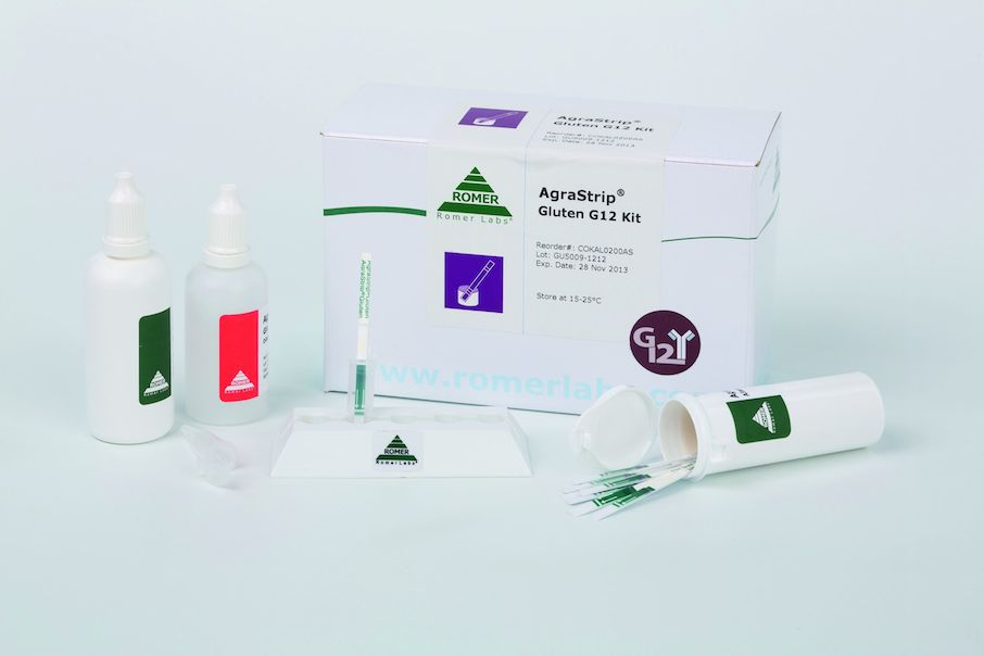 Romer Labs Gluten G12 rapid tests obtain AOAC approval