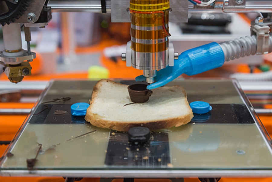 3D printed food safety