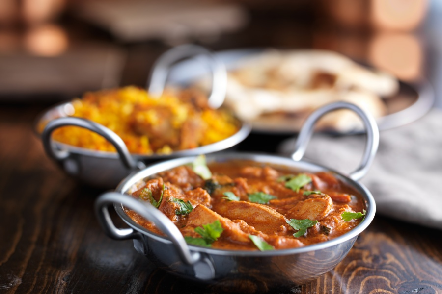 indian butter chicken curry in balti dishFood Fraud